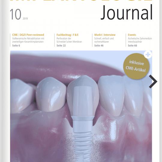 implantologie journal cover